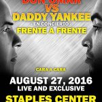 Daddy Yankee y Don Omar Listos Para Su Enfrentamiento En El Staples Center