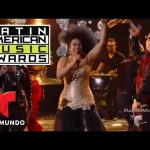 "Video: Aymee Nuviola Ft. Baby Rasta & Gringo ""Bailando Todo Se Olvida"" @ Latin American Music Awards (2016)"