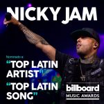 Nicky Jam Nominado A Los Billboard Music Awards 2017