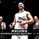 "Maluma Recibe ""Diamond Play Button"" De YouTube Por Sobrepasar 10 Millones De Suscriptores"